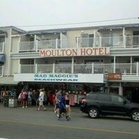 Photo taken at Moulton Hotel by Jim M. on 8/10/2012