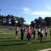 Photo taken at Doyle Field by Sadie C. on 8/26/2012