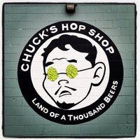 Photo taken at Chuck's Hop Shop by Matthew D. on 10/19/2011