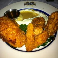 Photo taken at Blue Ribbon Brasserie by Byron B. on 5/24/2011