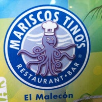 Photo taken at Mariscos Tino's by Marianaa R. on 4/4/2012