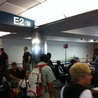 Photo taken at Gate E2 by Leo T. on 7/31/2012
