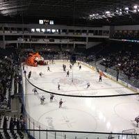 Photo taken at Webster Bank Arena by Steve S. on 4/15/2012
