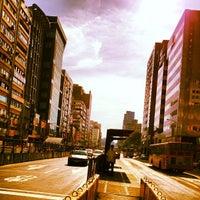 Photo taken at MRT Daan Station by Alan C. on 7/10/2012