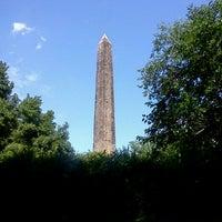 Photo taken at The Obelisk (Cleopatra's Needle) by Jeffrey G. on 7/13/2011