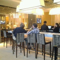 Photo taken at JW Marriott Lobby Lounge by Desmond W. on 3/17/2012