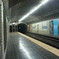 Photo taken at Exchange Place PATH Station by The Official Khalis on 10/9/2011