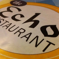 Photo taken at Echo Restaurant by Tim E. on 10/29/2011