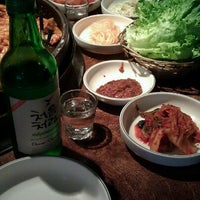 Photo taken at Chunchun Chicken Galbi by Jenny L. on 2/16/2012