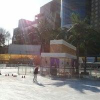 Photo taken at Walkerhill Ice Skating Rink by Kang J. on 1/29/2012