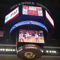 Photo taken at Lloyd Noble Center by ctaylorou on 2/23/2012