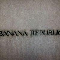 Photo taken at Banana Republic by James G. on 3/28/2012