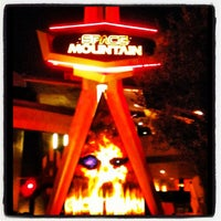 Photo taken at Space Mountain by Sean M. on 8/16/2012