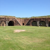 Photo taken at Fort Morgan State Historic Site by Jen K. on 8/26/2012