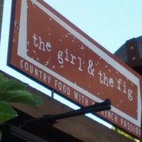 Photo taken at The Girl & The Fig by Jon P. on 7/14/2012