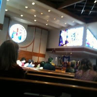 Photo taken at Lamb of God Lutheran Church by Brooke C. on 3/4/2012