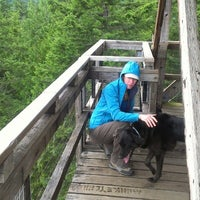 Photo taken at Heybrook Lookout Hiking Trail by D L. on 7/15/2012