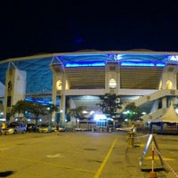 Photo taken at Stadium Nasional Bukit Jalil Car Park by Mohd Syafei A. on 3/10/2012