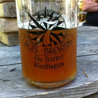 Photo taken at 7 Seas Brewing & Taproom by Bill F. on 8/4/2012