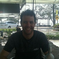 Photo taken at Hot Pipis Cafe by Jacinta D. on 4/23/2012