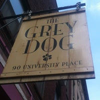 Photo taken at The Grey Dog by Frank R. on 4/18/2012