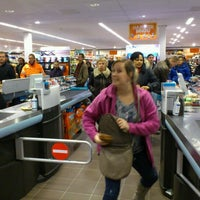 Photo taken at Albert Heijn by Stefan G. on 1/9/2012