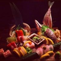 Photo taken at Blue Ribbon Sushi by Angela W. on 8/19/2012