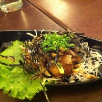 Photo taken at Tarot Salmon Japanese Restaurant by victoria sim on 8/1/2011