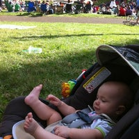 Photo taken at Cathedral Park by Mike C. on 8/26/2012