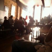 Photo taken at Linger Cafe & Lounge by Denae H. on 10/30/2011