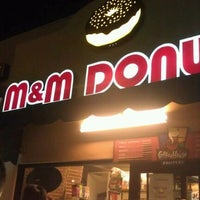 Photo taken at M&M Donuts by Lilo C. on 9/7/2011