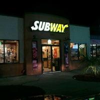 Photo taken at Subway by Ryan S. on 1/29/2012