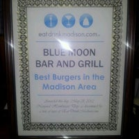 Photo taken at Blue Moon Bar and Grill by Stephanie P. on 6/2/2012