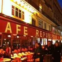 Photo taken at Café République by Renaud F. on 11/22/2011
