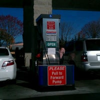 Photo taken at Costco Gas Station by Pol v. on 12/4/2011