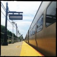 Photo taken at LIRR - Nassau Blvd Station by bethanne on 6/19/2012