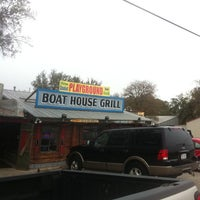 Photo taken at Boat House Grill by Alfredo C. on 11/21/2011