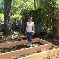 Photo taken at Prospect Heights Community Farm by Anna-Teres K. on 5/19/2012