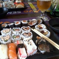 Photo taken at Sushi Drive by Jacqueline O. on 2/5/2012