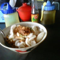 Photo taken at Bubur Ayam Syarifah Jakal by Syarifudien Z. on 5/13/2012