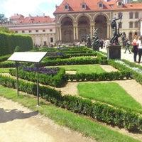 Photo taken at Wallenstein Garden by Božidara-Oink Z. on 8/13/2012