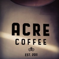 Photo taken at Acre Coffee by Emery on 10/31/2011
