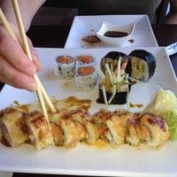 Photo taken at Aki Japanese Cuisine by Allison M. on 5/18/2012