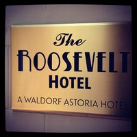 Photo taken at The Roosevelt New Orleans by Sparrow F. on 6/24/2012