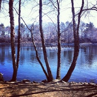 Photo taken at Jamaica Pond by Steve G. on 2/19/2012