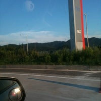 Photo taken at Anseong Service Area - Jecheon-bound by dongbakse on 8/5/2011