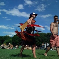 Photo taken at Sheep Meadow by Jeff W. on 9/23/2011