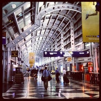 Photo taken at Chicago O'Hare International Airport (ORD) by leeleechicago on 8/2/2012