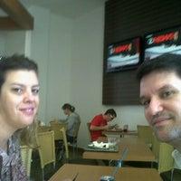 Photo taken at Restaurante do Brasão Supermercados by Valdemir M. on 4/21/2012