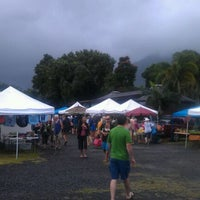 Photo taken at Hanalei Saturday Farmers Market by Bart B. on 11/26/2011